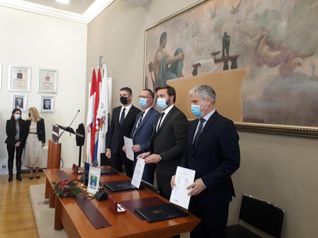 S potpisivanja ugovora o Aglomeraciji Dubrovnik