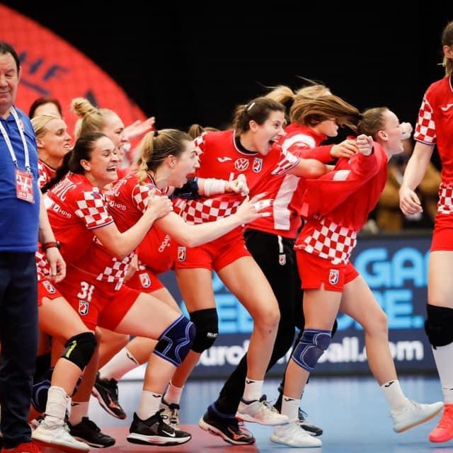 Hrvatska rukometašice slave prolaz u drugi krug EP-a, a hoće li i u polufinale? foto: hrs.hr