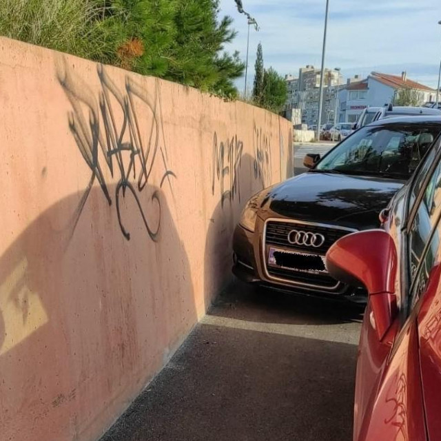 I ovaj je vjerojatno 'samo sekund parkirao' u krugu bolnice na Firulama