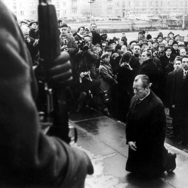 Willy Brandt u Varšavi, 6.12.1970.