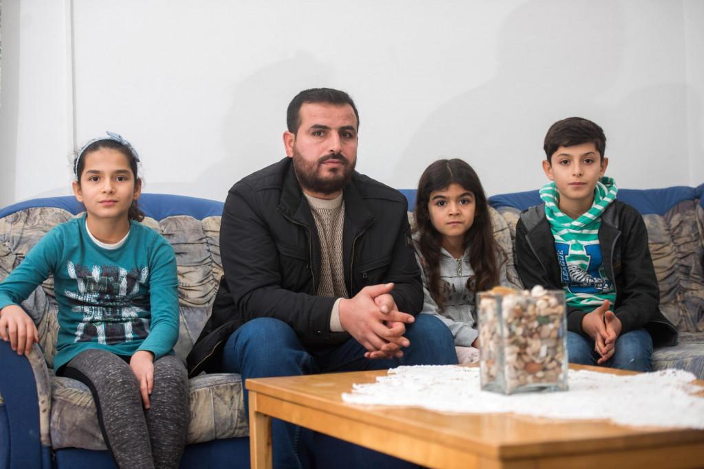 Obitelj Abdula Rahmana, svi plivači i zaljubljeni u more