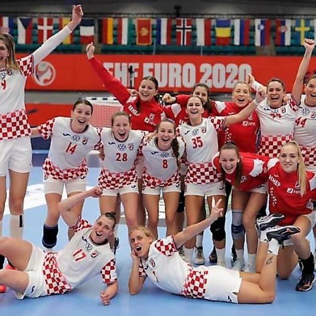 Slave hrvatske rukometašice pobjedu protiv Mađarske na EP-u
