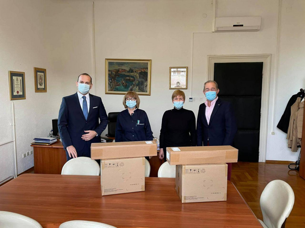 Vrijedna donacija Općoj bolnici Šibenik stiglaje od Općine Tisno i Brodogradilišta i marine d.o.o. iz Betine