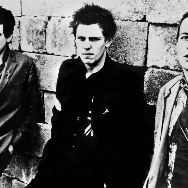Joe Strummer, Mick Jones i Paul Simonon