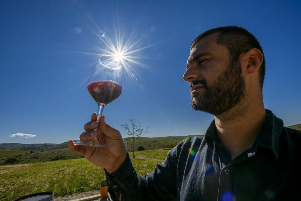 Juraj Sladić vjerojatno je najmlađi vinar iz ovog dijela svijeta