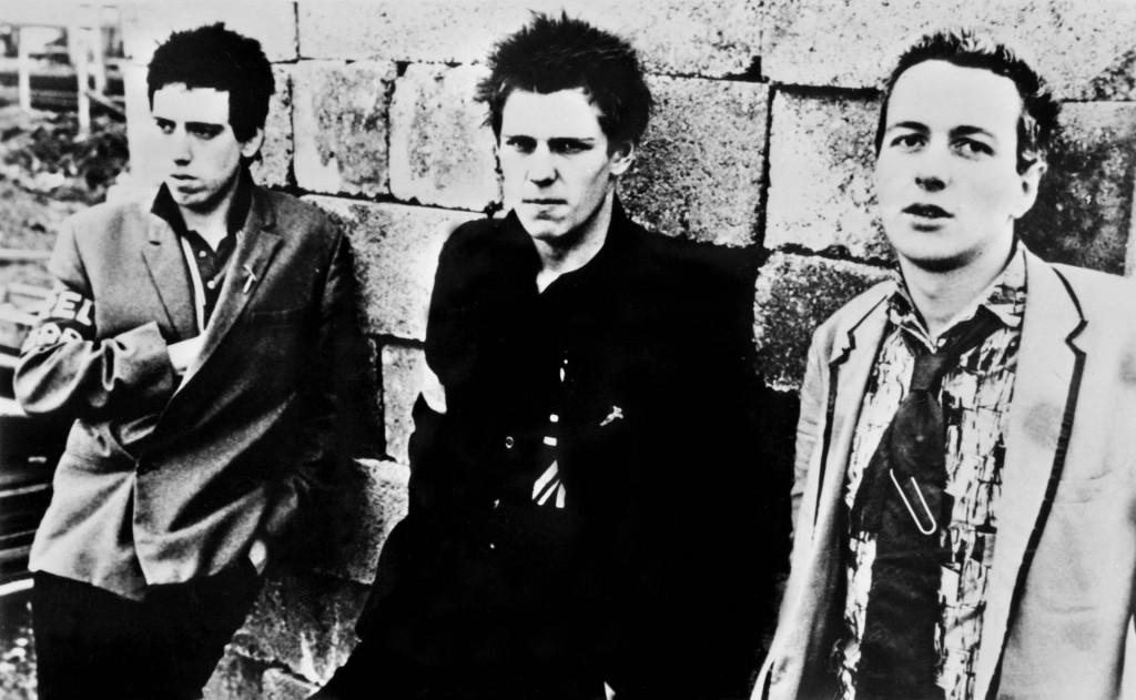 Joe Strummer, Mick Jones i Paul Simonon