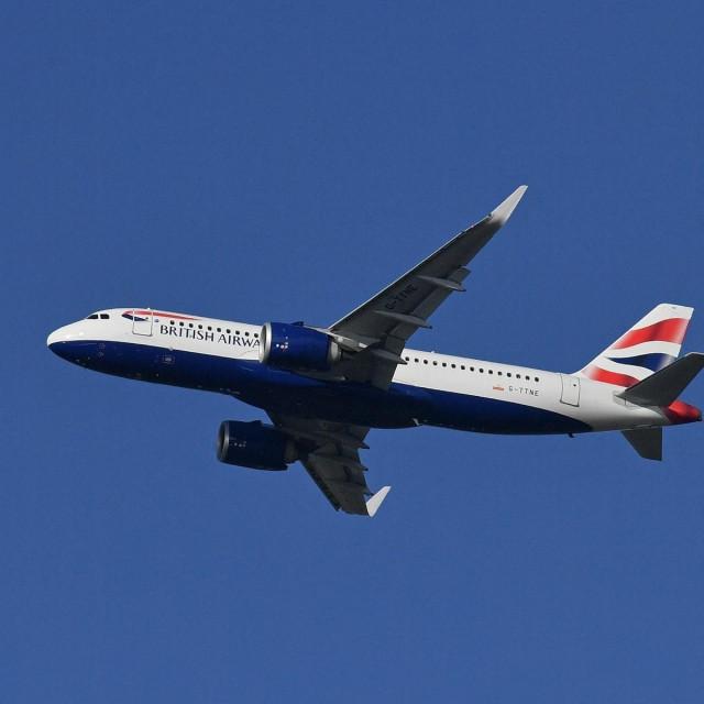 Avion British Airwaysa