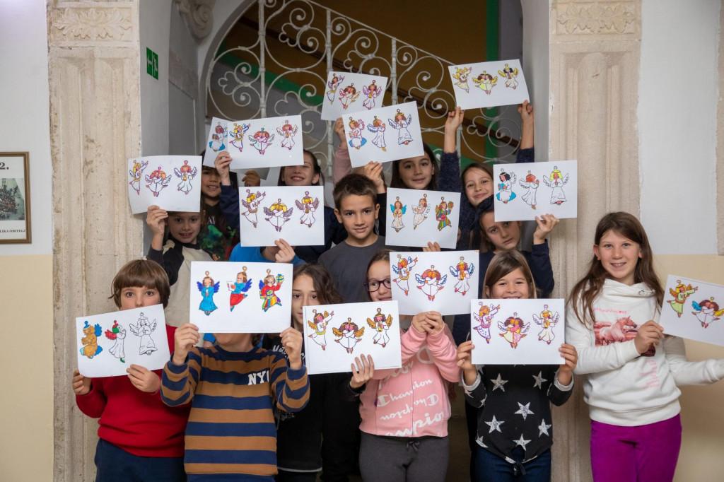 Učenici Osnovne škole Marina Getaldića