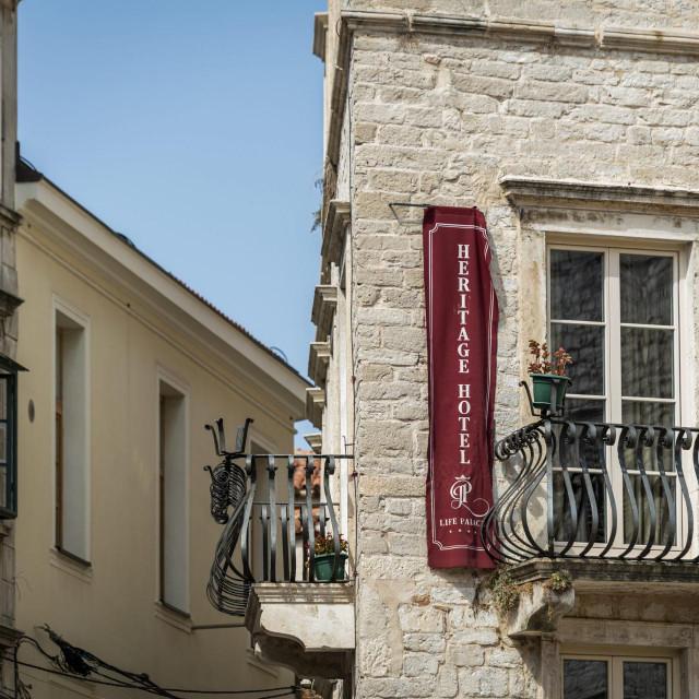 Hotel Life palace na trgu Medulić u centru Šibenika otvorit će vrata gostima za predstojeće blagdane