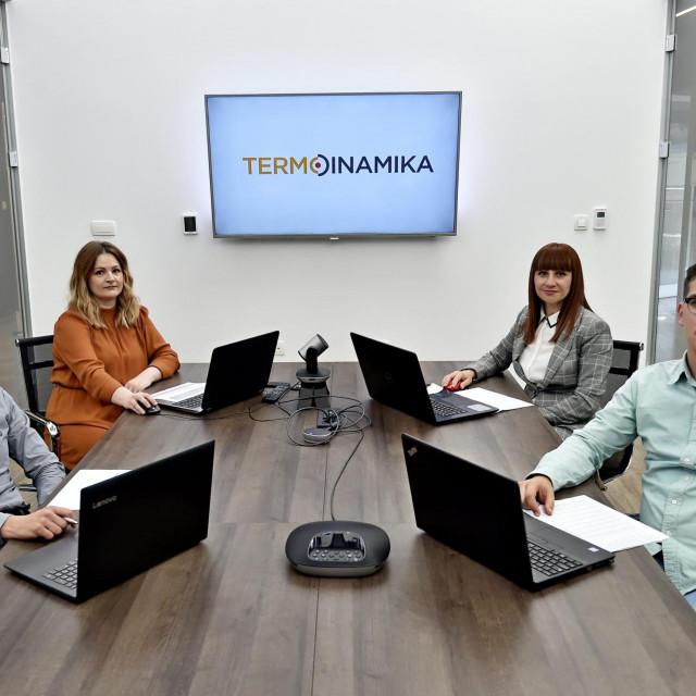 Miško Varenina, Kristina Tonković, Anita Grljušić i Duje Barišić
