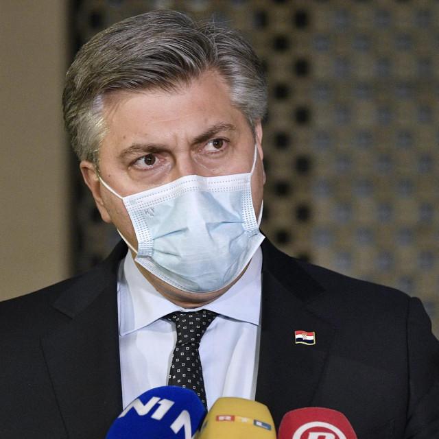 Premijer Andrej Plenković komentirao je stanje s koronavirusom u Hrvatskoj