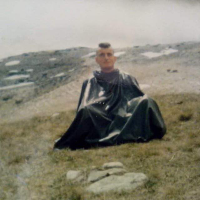 Miro Bulj na ratištu, 1994. godine.