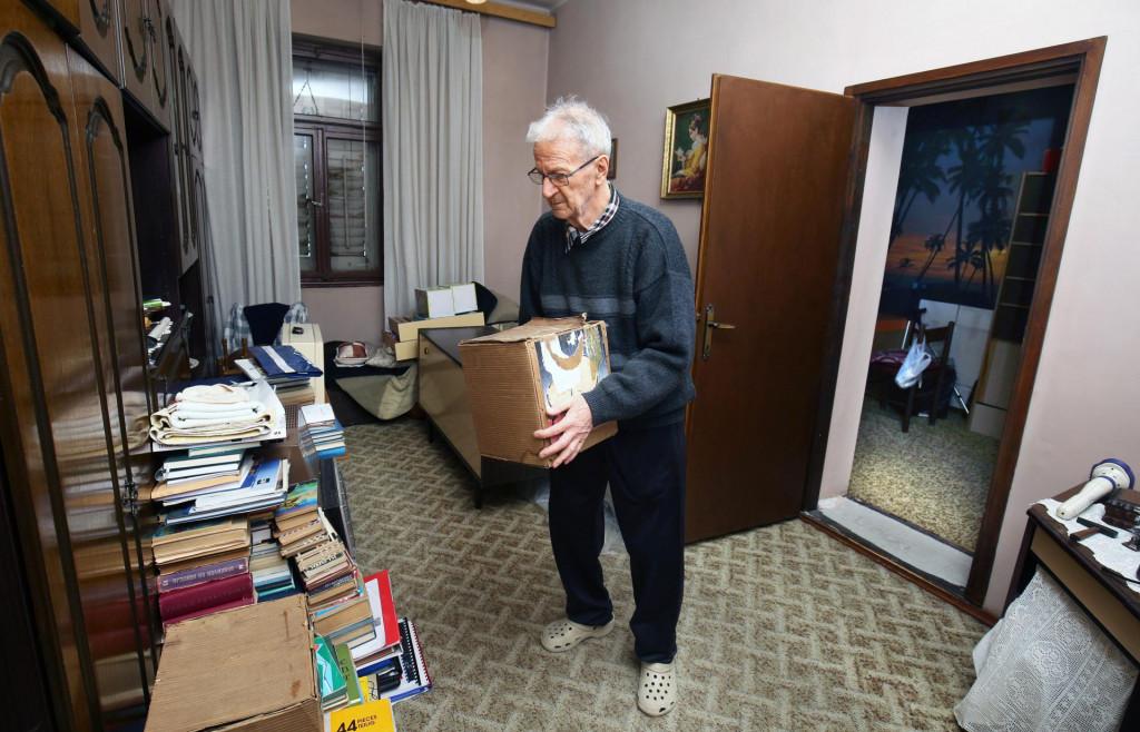 Ante Vučina morao je iznijeti stvari iz prostorije koju njegova obitelj koristi više od 50 godina
