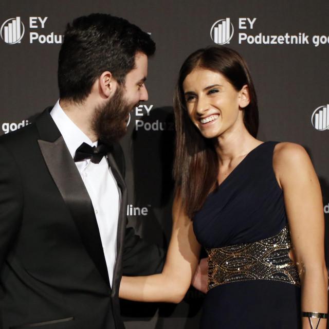 Mate Rimac i Katarina Lovrić