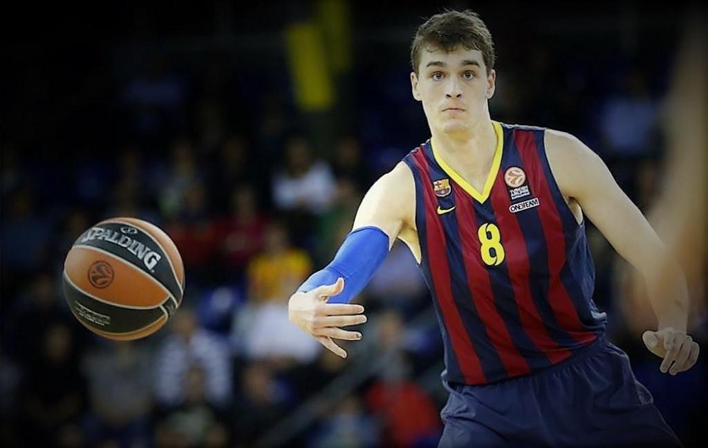 Mario Hezonja je bio član Barcelone od 2012. do ljeta 2015. godine