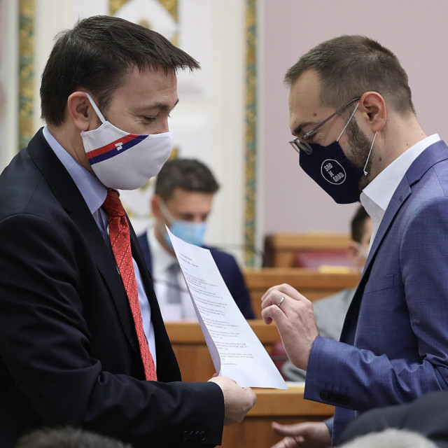 Arsen Bauk i Tomislav Tomašević