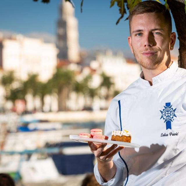 Luka Pavić nije gastro-bloger, ali je jedan od najboljih mladih slastičara generacije koja je učila od slavne Tereze Alabande