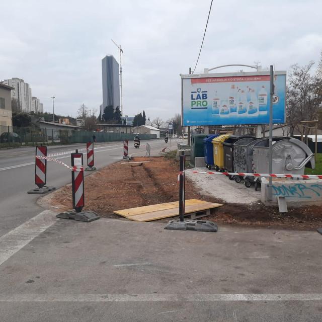 Uređenje nedovršenog dijela Hercegovačke ulice
