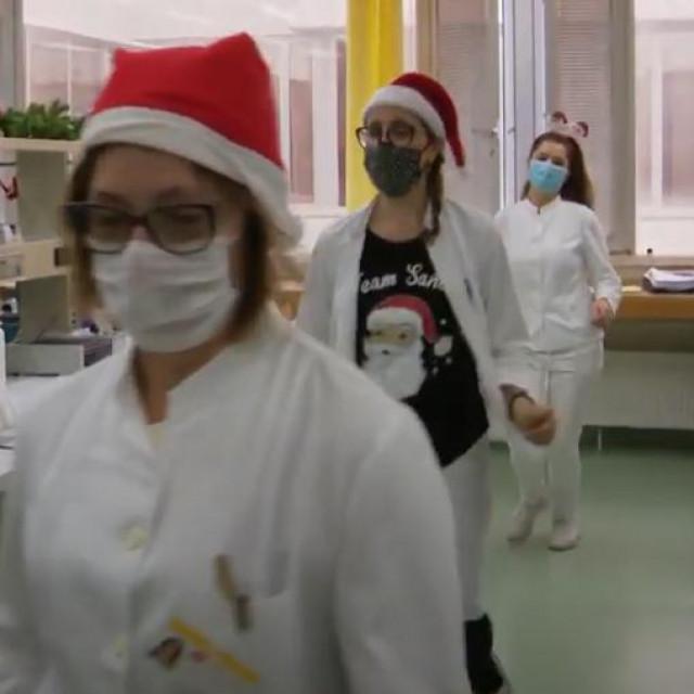 U Općoj bolnici Dubrovnik odgovorili su na plesni izazov