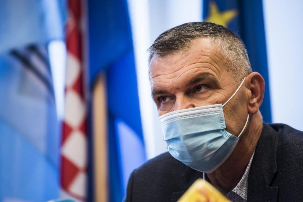 Predsjednik ŽO HDZ-a Šibensko-kninske županije Nediljko Dujić.<br />