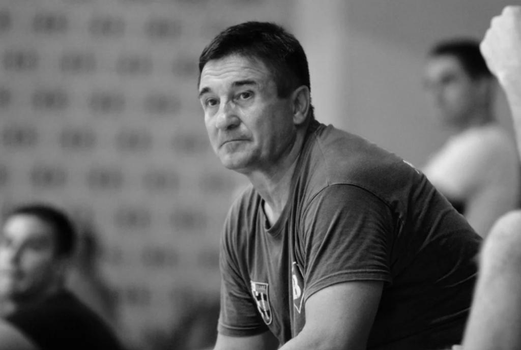 Željko Jelić na splitskim Gripama (AFC Universitas - Square, srpanj 2020. godine)