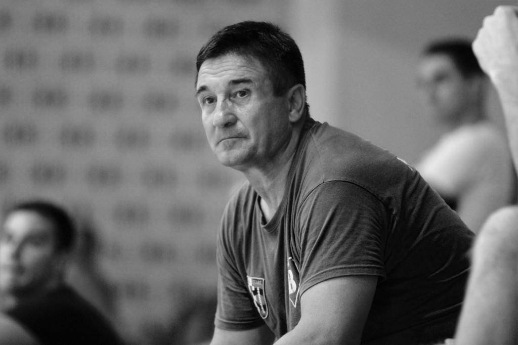Željko Jelić na splitskim Gripama (AFC Universitas - Square, srpanj 2020. godine) foto: Tonči Vlašić