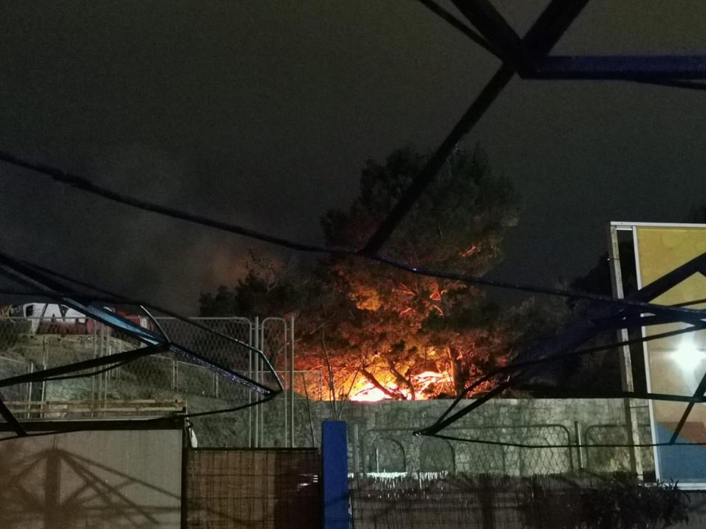 Požar na Katalinića brigu