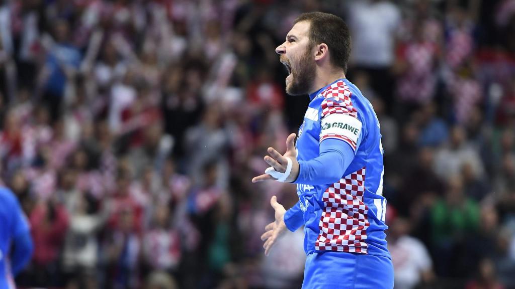 Ivan Čupić protiv Švedske u Splitu na EP-u 2018. godine foto: Ante Čizmić / CROPIX