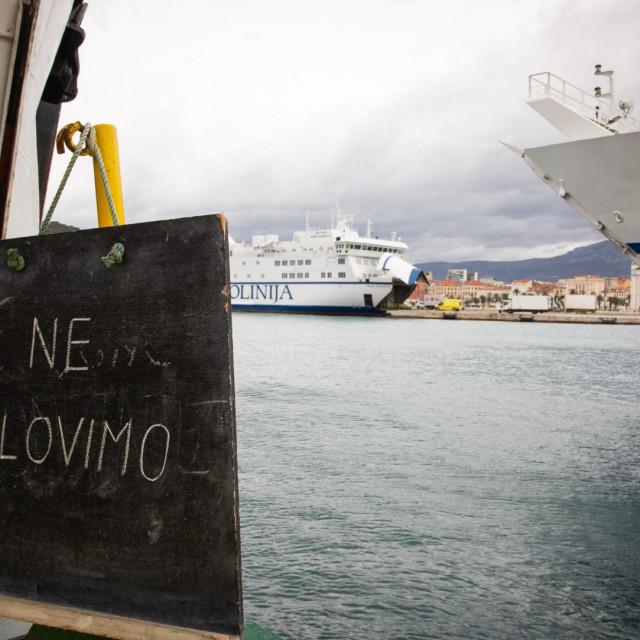 Današnji prizor iz Splita