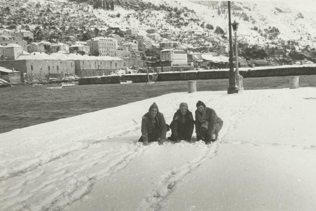 Na današnji dan daleke 1941. godine u Dubrovniku je napadao gusti snijeg