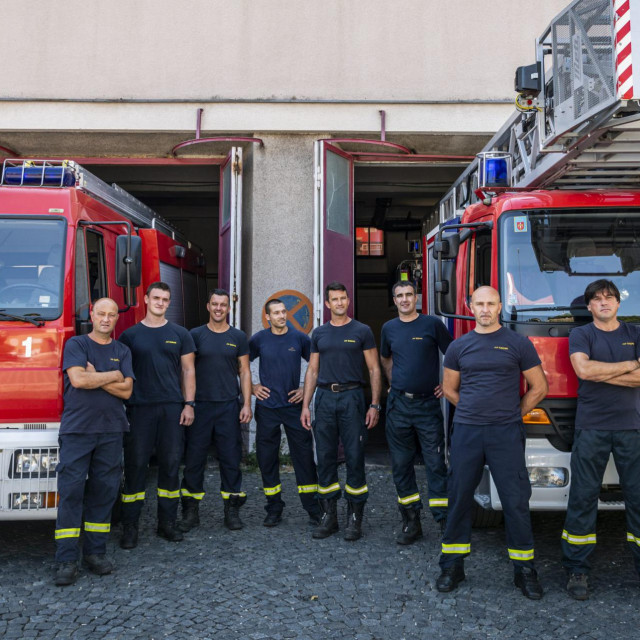 Hrabri šibenski vatrogasci