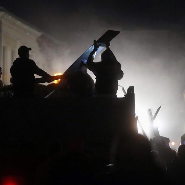 Funcuti su, ali i druge navijačke skupine, stigli u Petrinju gdje pomažu u saniranju posljedica potresa