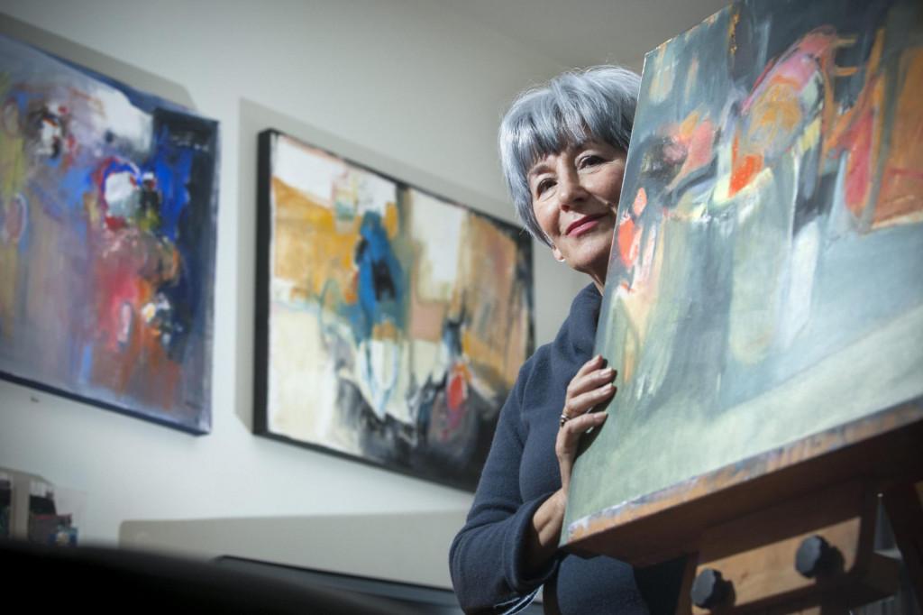 Dvadesetak samostalnih izložbi uvrstit ćeKasju Tulić među zanimljivije i osebujnije splitske slikarice<br />