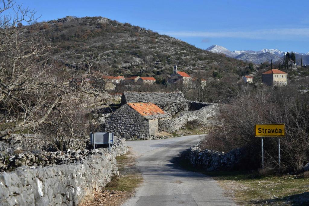 Selo Stravča u Konavlima