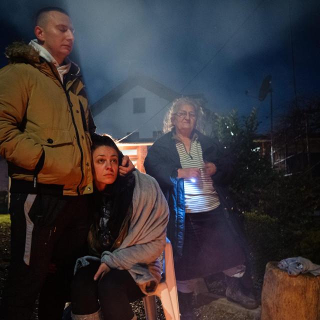 Viodičani su primili obitelji koje su ostale bez ičega nakon razornog potresa