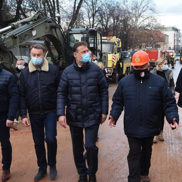 Na fotografiji: Ivo Žinić, Gordan Jandroković i Darinko Dumbović