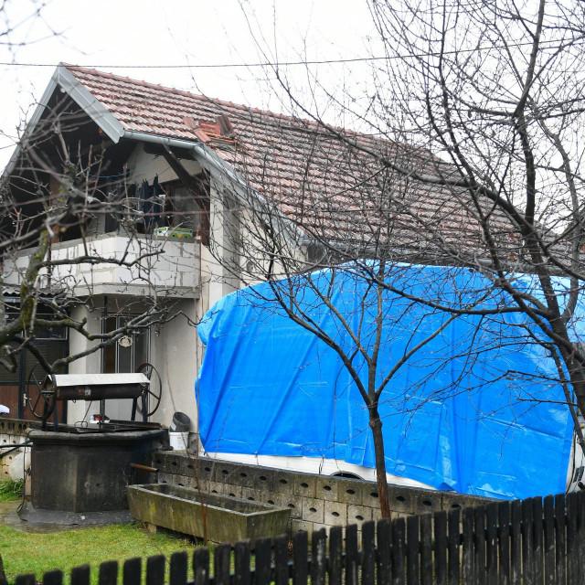 Mjesto na kojem je poginuo volonter koji je popravljao objekt stradao u potresu