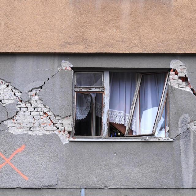 Petrinja, 020121.<br /> Zivot nakon potresa u Petrinji i okolici.<br />