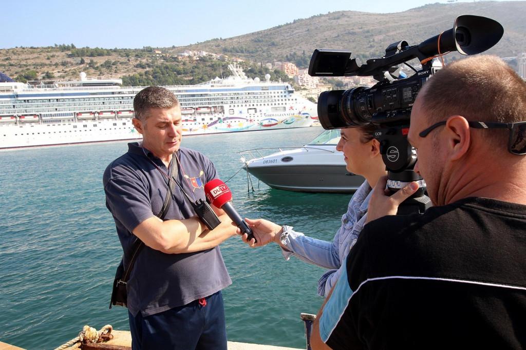 Maro Kapović, predsjednik Dubrovačkog saveza športova i tajnik Veslačkog kluba Neptun foto: Tonči Vlašić