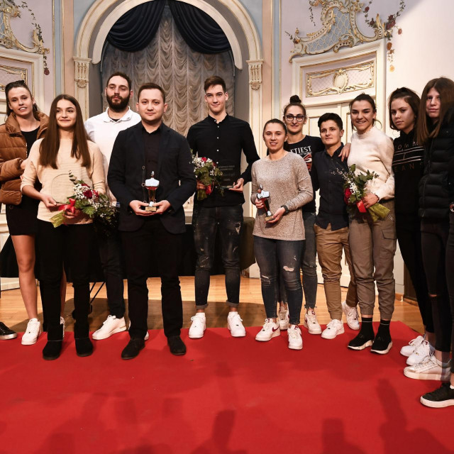 Prošlogodišnji dobitnici nagrade 'Sportsko ime Dalmacije'