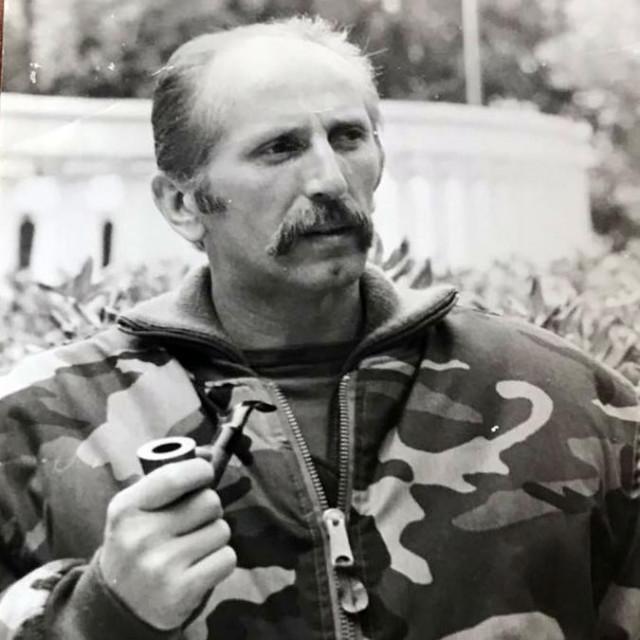 Zapovjednik obrane Dubrovnika, general Nojko Marinović