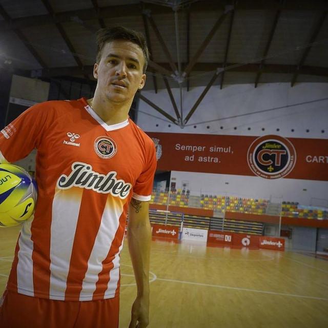 Dubrovčanin Dario Marinović, 30-godišnji hrvatski reprezentativac i igrač španjolskog prvoligaša Jimbee Cartagena