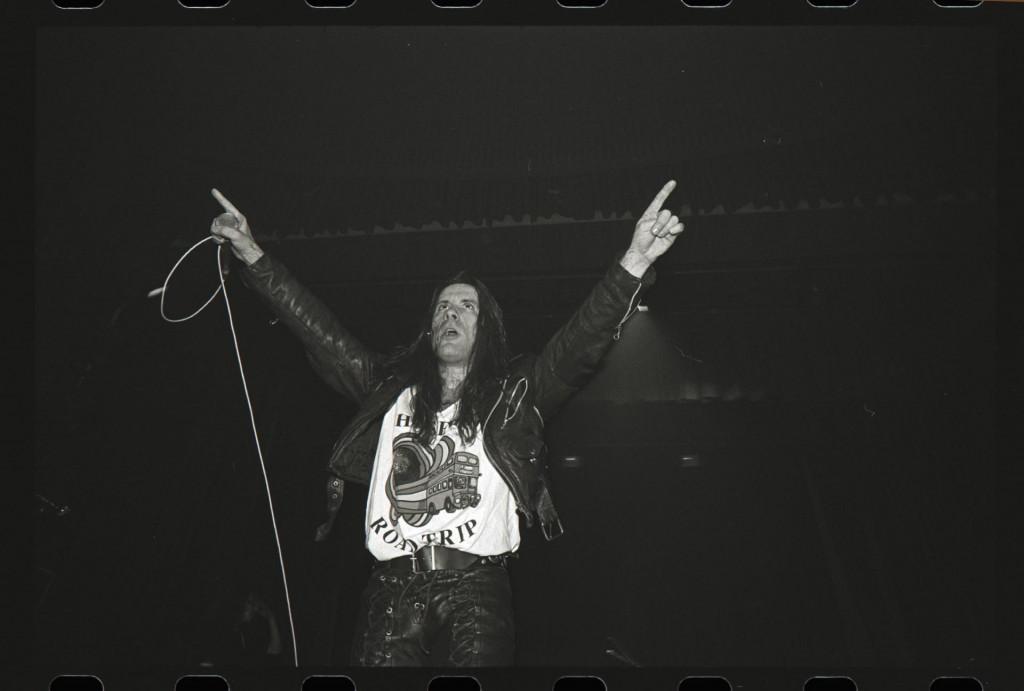 Bruce Dickinson na sarajevskom koncertu 1994.