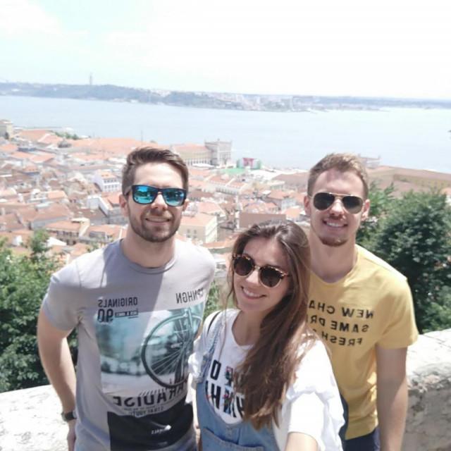 Kristijan Korać, Tea Matas i Ivan Matas, autori projekta doniraj.hr<br />