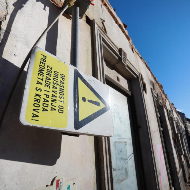 Petrinja, 060121.<br /> Stanje u Petrinji osmi dan nakon razornog potresa.<br />