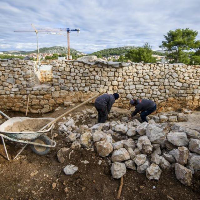 Radovi na tvrđavi sv. Ivana<br />