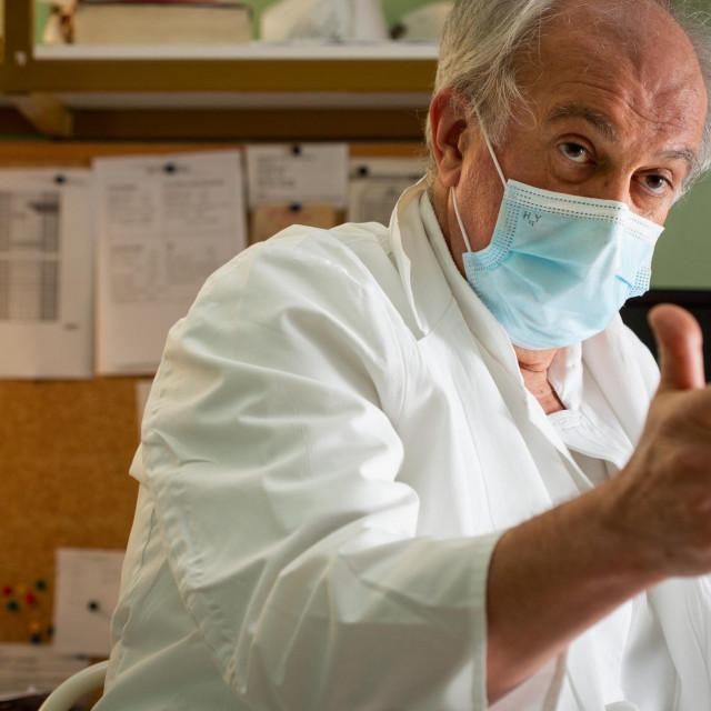 Prof. prim. dr. sc Ivo Ivić:Bilo nas je puno zaraženih i liječnika i drugog osoblja, ali nijedan liječnik u Splitu nije preminuo