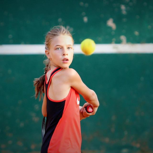 Ana Petković, tenisačica Raguse foto: Tonči Vlašić