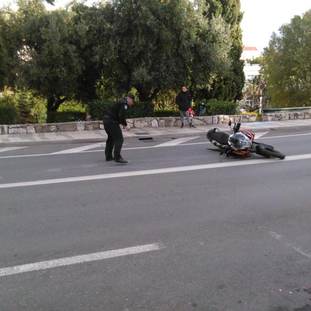 S jednog od očevida Prometne policije u Dubrovniku
