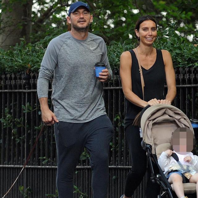 Obitelj Lampard u šetnji